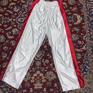 Vintage Nike tear away pants